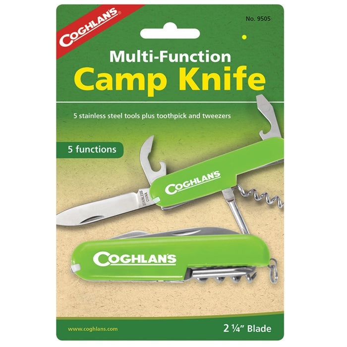 Coghlan's 5 Function Camp Knife