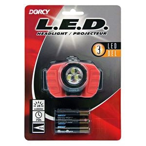 3 LED Headlamp