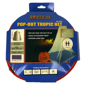 Pop-Out Mosquito Net