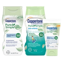 Coppertone Pure & Simple Lotions