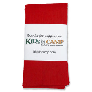 Kids in Camp Red Bandana
