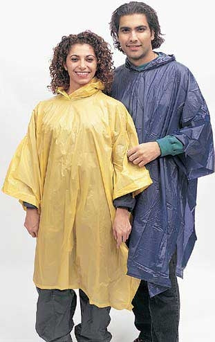 Light-use/emergency poncho