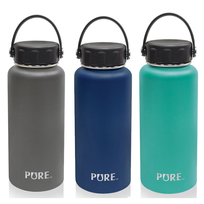 Pure 1L Thermal Steel Bottle