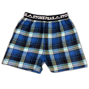 Adult Stone Peak Flannel Boxers