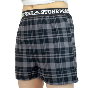 Youth Stone Peak Flannel Boxers