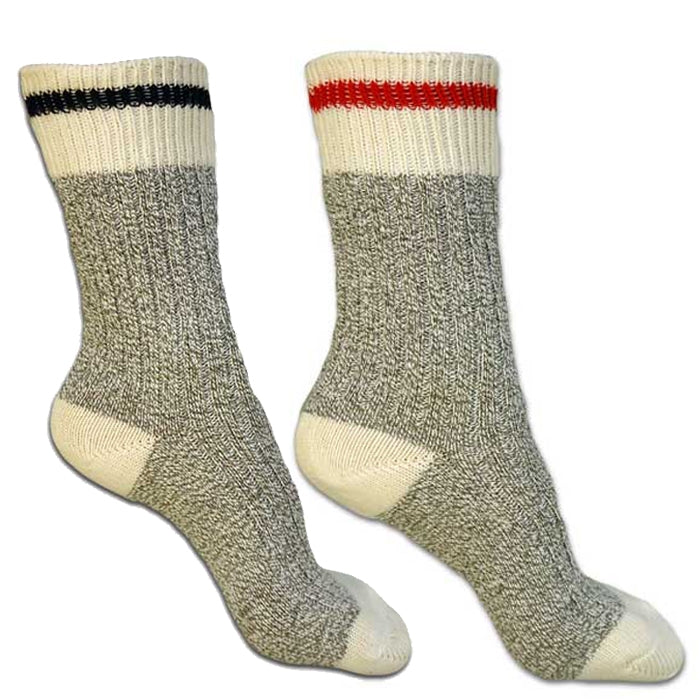 Stone Peak Cotton Work Sock 2 pack - Youth