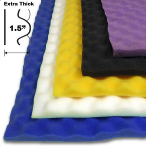 Stone Peak Egg-Carton Mattress Pad - Thick
