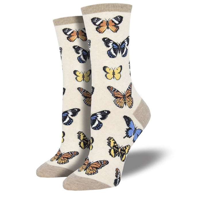 Socksmith Women's: Majestic Butterflies