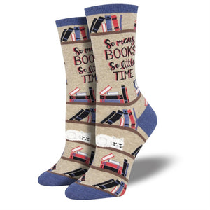 Socksmith Women's: Time for a Good Book