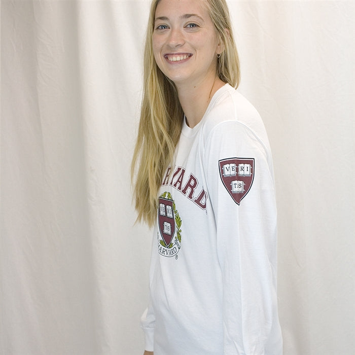 Harvard Long Sleeve T Shirt