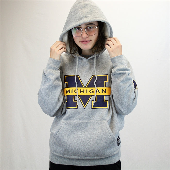 Michigan Fleece Hooded Sweatshirt