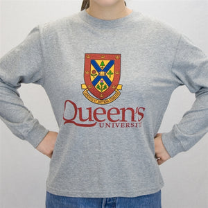 Queens Long Sleeve T Shirt - Youth