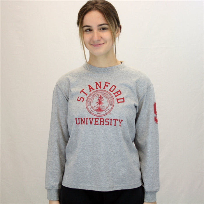 Stanford University Long Sleeve T Shirt - Youth