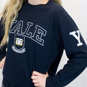 Yale University Long Sleeve T Shirt