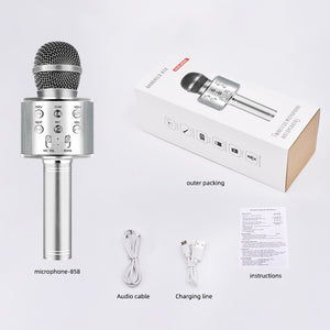 Bluetooth Karaoke Wireless Microphone
