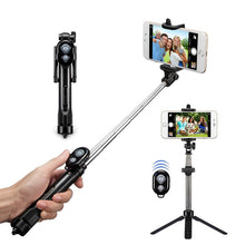 Load image into Gallery viewer, Bluetooth Tripod Selfie Stick