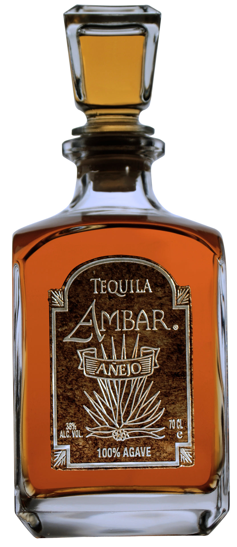 Tequila Ambar Ultra-Premium 100% Highland Agave, Anejo