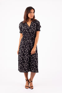 Little Flowers Midi Dress