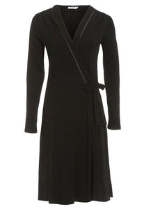 Merino Wool Wrap Dress