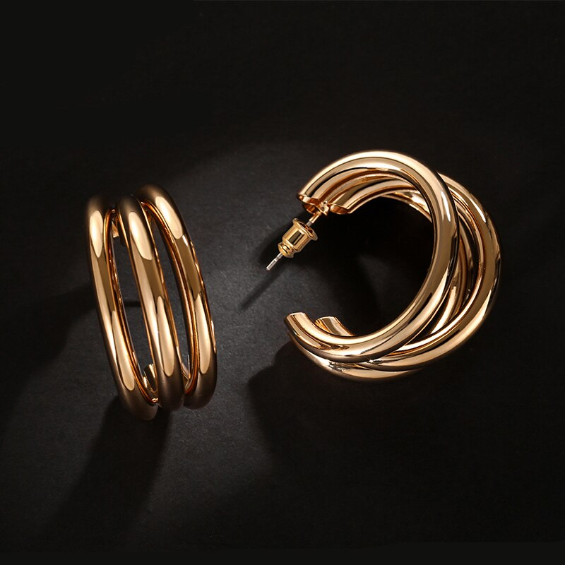 Golden Arch Earrings