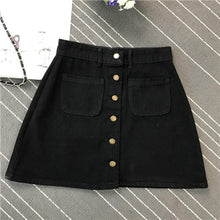 Load image into Gallery viewer, A Line Denim Skirt