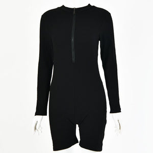 Zipped Playsuit