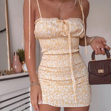 Load image into Gallery viewer, Summer Party Backless Mini Dress