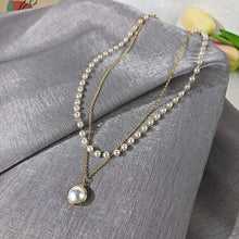 Load image into Gallery viewer, Fashion Pearl Choker