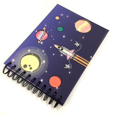 4x6 Photo Album Rocket Planet