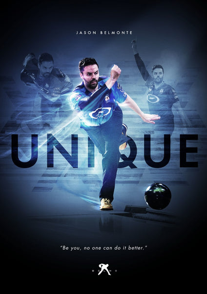 Jason Belmonte 'Unique' Autograph Card Signed w/ Personalized Message