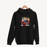 The Big Bang Theory Cartoon - Unisex Hoodie