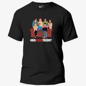 The Big Bang Theory Cartoon - Unisex T-Shirt