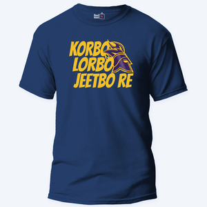 Korbo Lorbo Jeetbo Re - Unisex T-Shirt