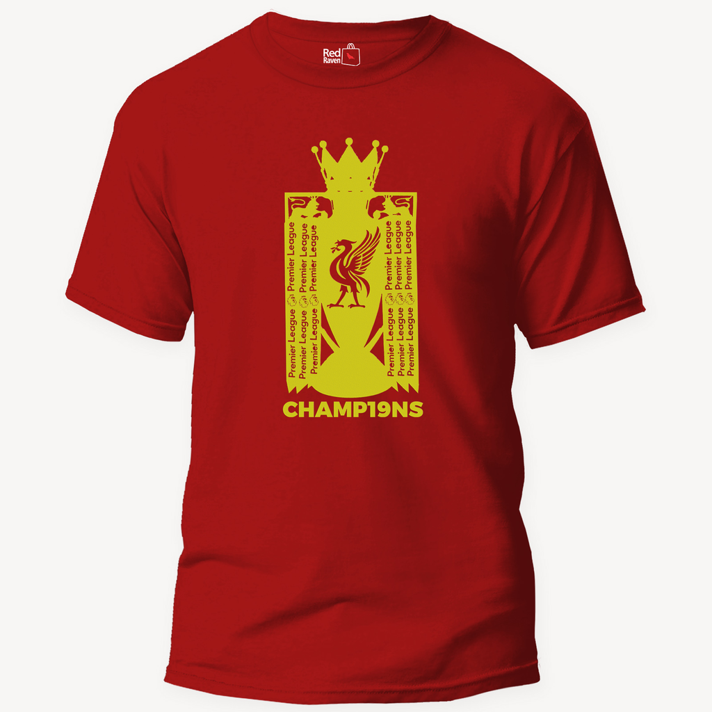 Liverpool Champions Football - Unisex T-Shirt