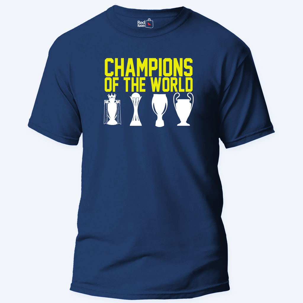 Liverpool Trophies Football - Unisex T-Shirt