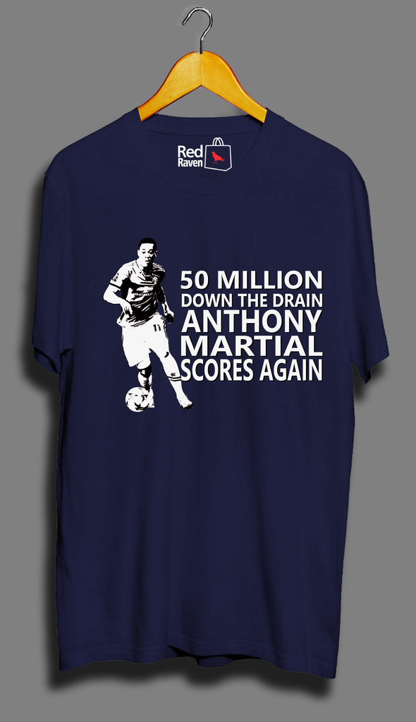 Martial Scores Again Football - Unisex T-Shirt