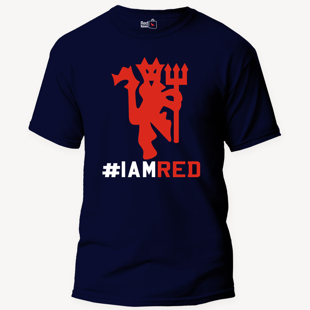 Manchester United I Am RED Football - Unisex T-Shirt