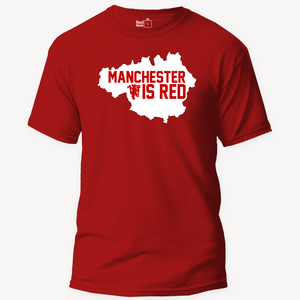 Manchester Is Red Football - Unisex T-Shirt