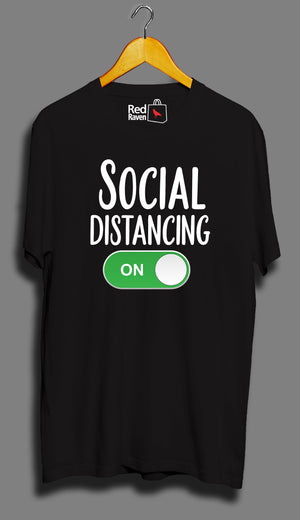 Social Distancing On - Unisex T-Shirt