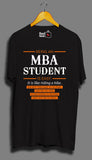 Being An MBA Student Is Easy - Unisex T-Shirt