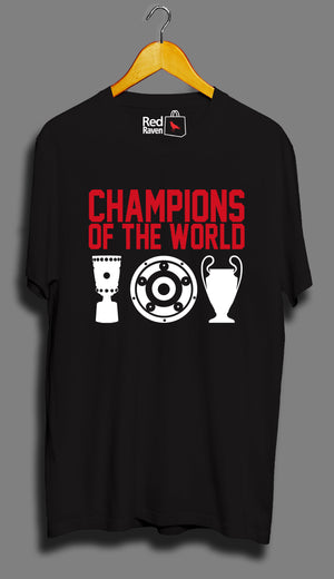 Bayern Munich Champions of the World - Unisex T-Shirt