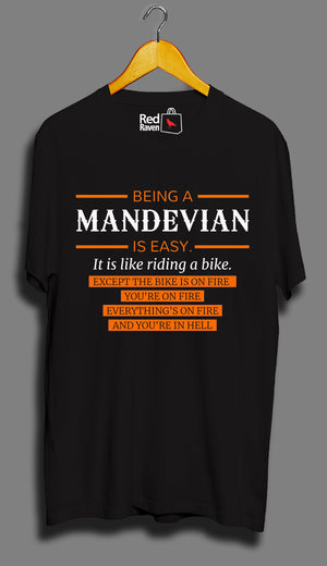Being A MANDEVIAN Is Easy - Unisex T-Shirt