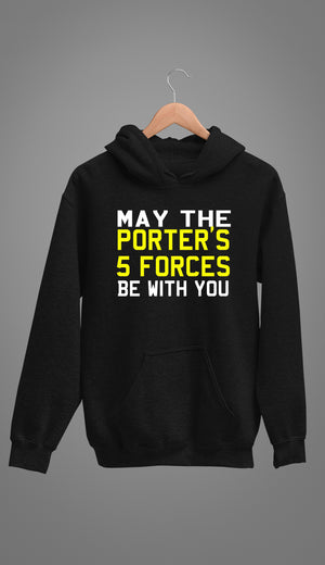 PORTER'S 5 FORCES - Unisex Hoodie