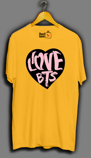 I Love BTS - Unisex T-Shirt