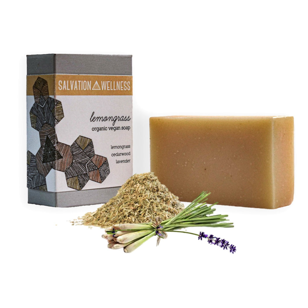 lemongrass bar soap organic vegan salvation wellness new jersey