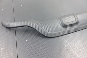 GENUINE RENAULT CAPTUR 2013-16 Carbon Effect Spoiler, Diffuser & Side Skirts Kit