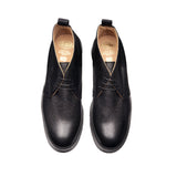 Black Grain Chukka Boot