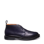 Navy Grain Chukka Boot