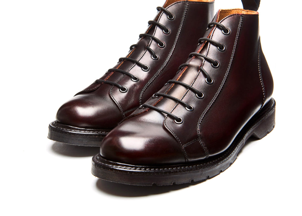 Burgundy Monkey Boot