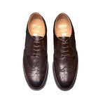 Walnut 4 Eye Gibson Brogue Shoe